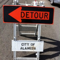Expect traffic delays at multiple locations in Alameda due to sewer work. (File photo)