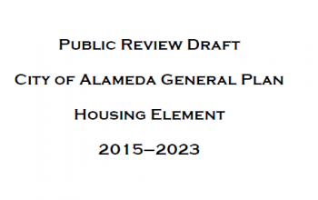The City of Alameda Planning Board will receive a draft Housing Element plan tonight.