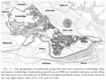 Cambridge, Massachusetts, ended rent control in 1995.